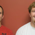 Trevor Chaney, left, received the $3,000 RMEL scholarship last year. Brady Cromer, right, is this year's recipient.
