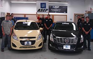 General Motors donates Chevrolet Spark, Cadillac XTS to SCC program