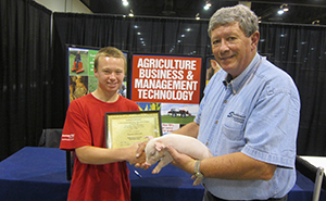 Ag students, instructor show off livestock at River City Rodeo & Stock Show