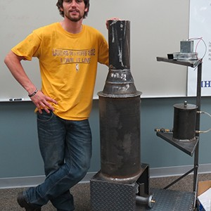 Student project becomes piece of training equipment for SCC program