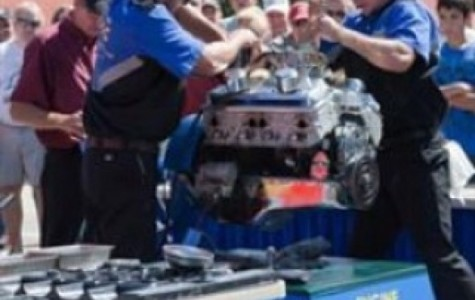 SCC engine-build team breaks record twice in 35 days