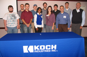 Koch Fertilizer Scholarship recipients honored during luncheon
