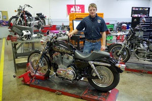 Bronze at national competition earns SCC donated motorcycle