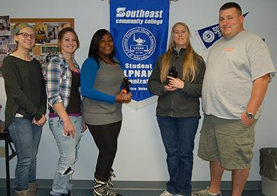 SCC Beatrice Campus Practical Nursing program student organization awarded