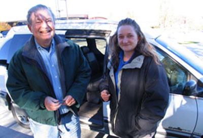 SCC student receives vehicle through St. Mark's program