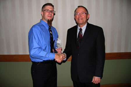 NCCA honors Scott Volk as SCC's Distinguished Alumni Award winner