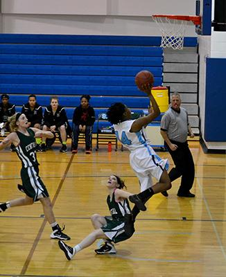 Lady Storm gets big win in season's final home game