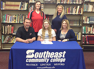SCC volleyball signs Mead standout Devynn Patocka