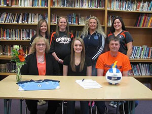 Diller-Odell graduate signs to play volleyball at SCC