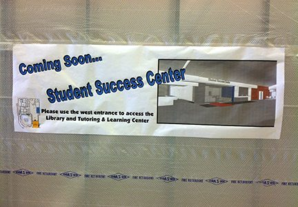 Student Success Center coming