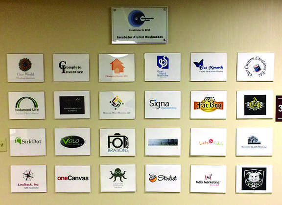 These are the alumni of the SCC Business Incubator at the Entrepreneurship Center.