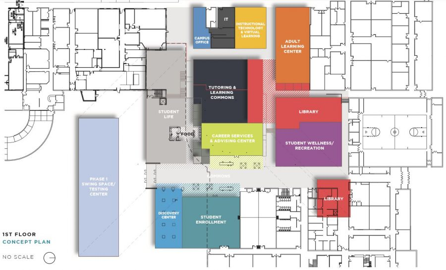 Campus remodeling plan aims to improve student experience